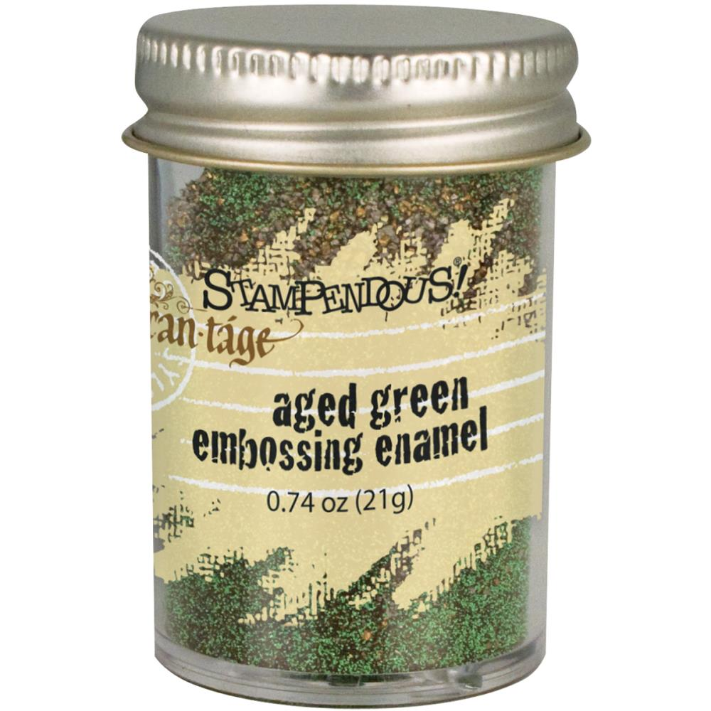 Stampendous - puder do embossingu - Aged Green