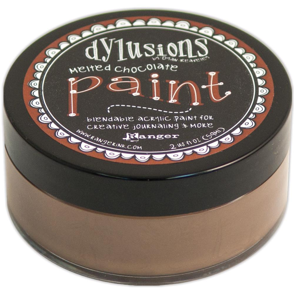 Dylusions Paint - farba akrylowa - Melted Chocolate