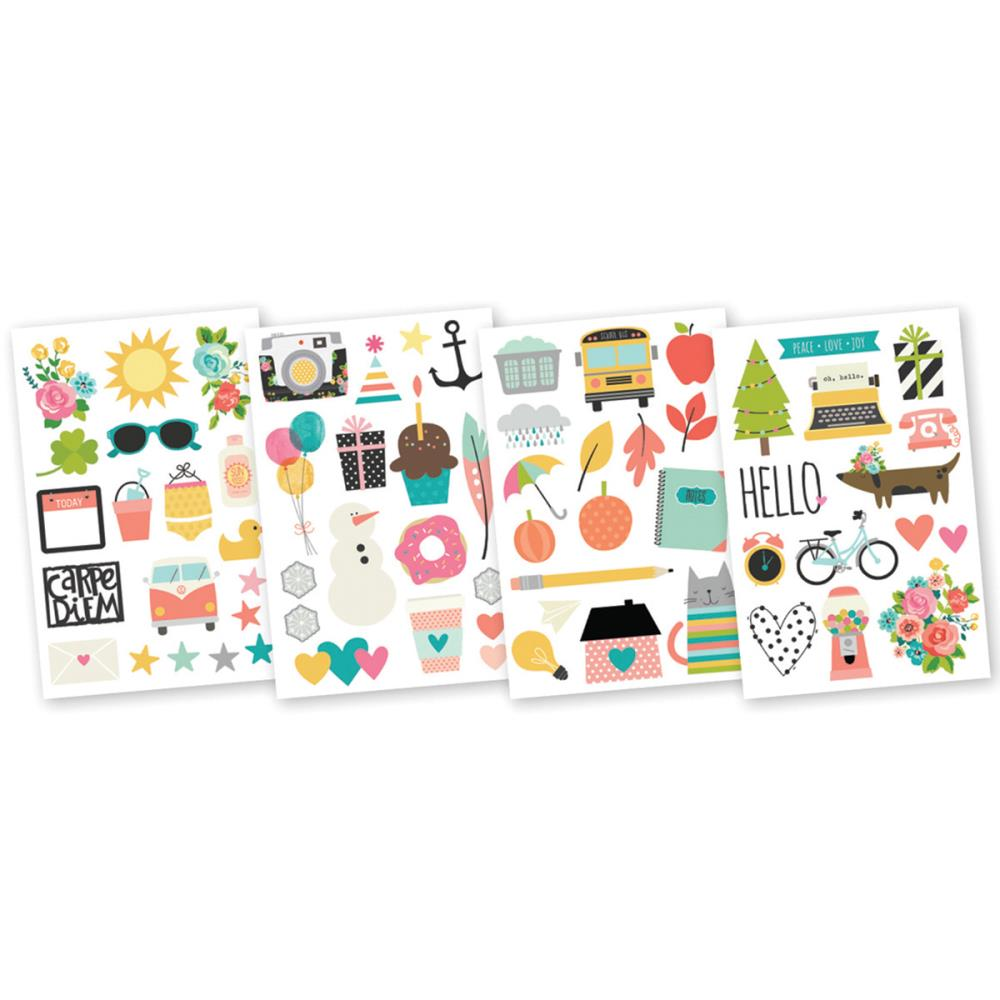 Simple Stories - Carpe Diem - Illustrated Life Stickers