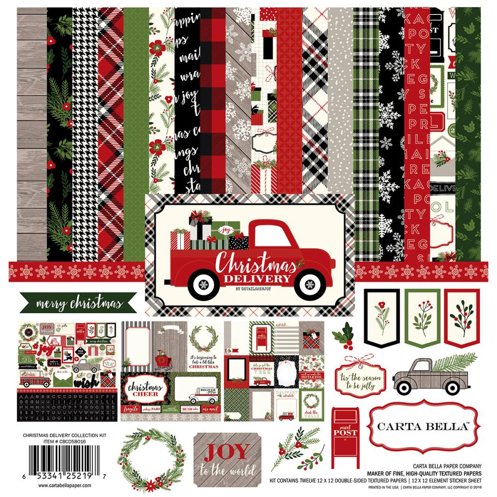 Carta Bella - Christmas Delivery - Collection Kit
