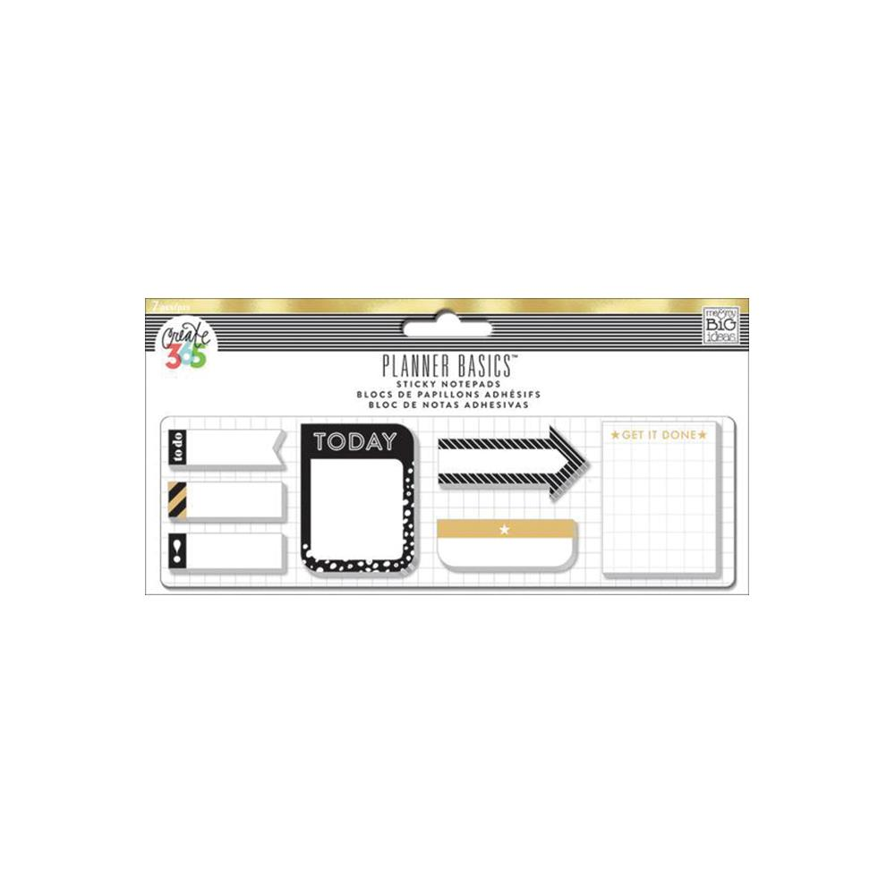 MAMBI - Create 365 Happy Planner Sticky Notes - Gold