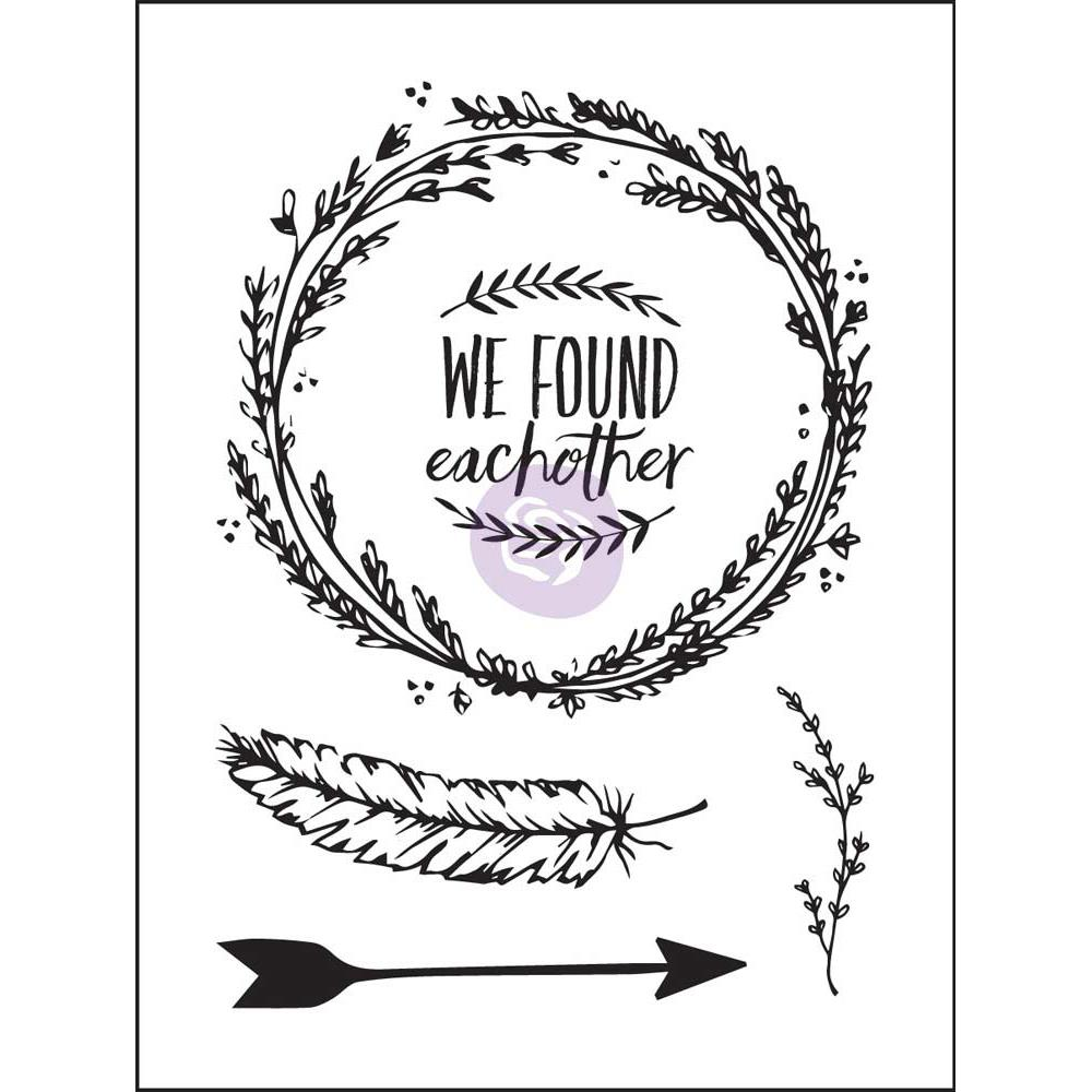 Prima - Wild & Free - Clear Stamps - We Found Eachother