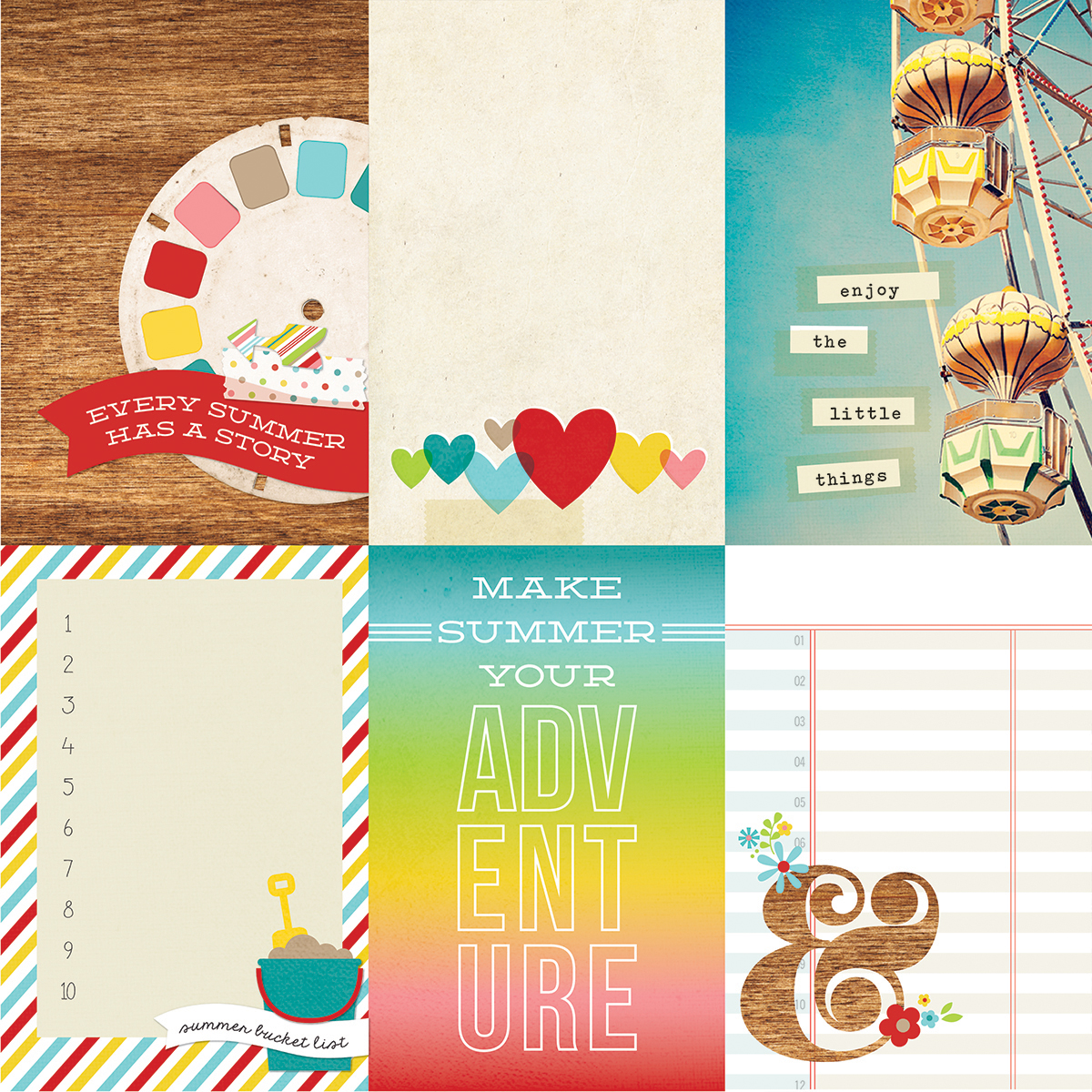 Simple Stories - Good Day Sunshine - 4x6 Journaling Cards