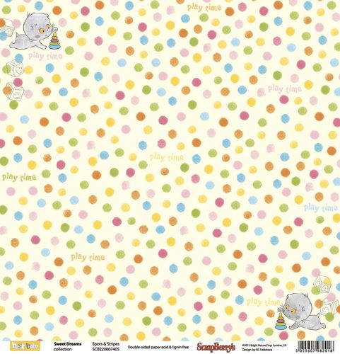 ScrapBerry's - Sweet Dreams - Spots & Stripes