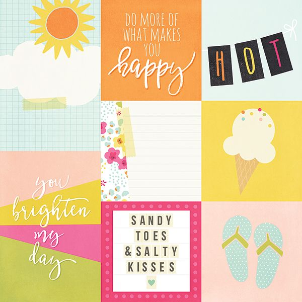 Simple Stories - Sunshine and Happiness - 4x4 & 4x6 Cards