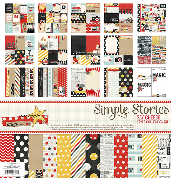 Simple Stories - Say Cheese - Collection Kit