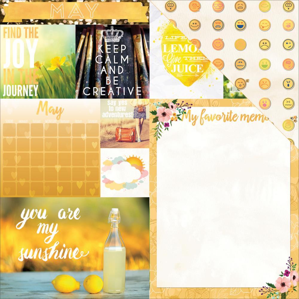 Calendar Girl May : Bo bunny calendar girl may