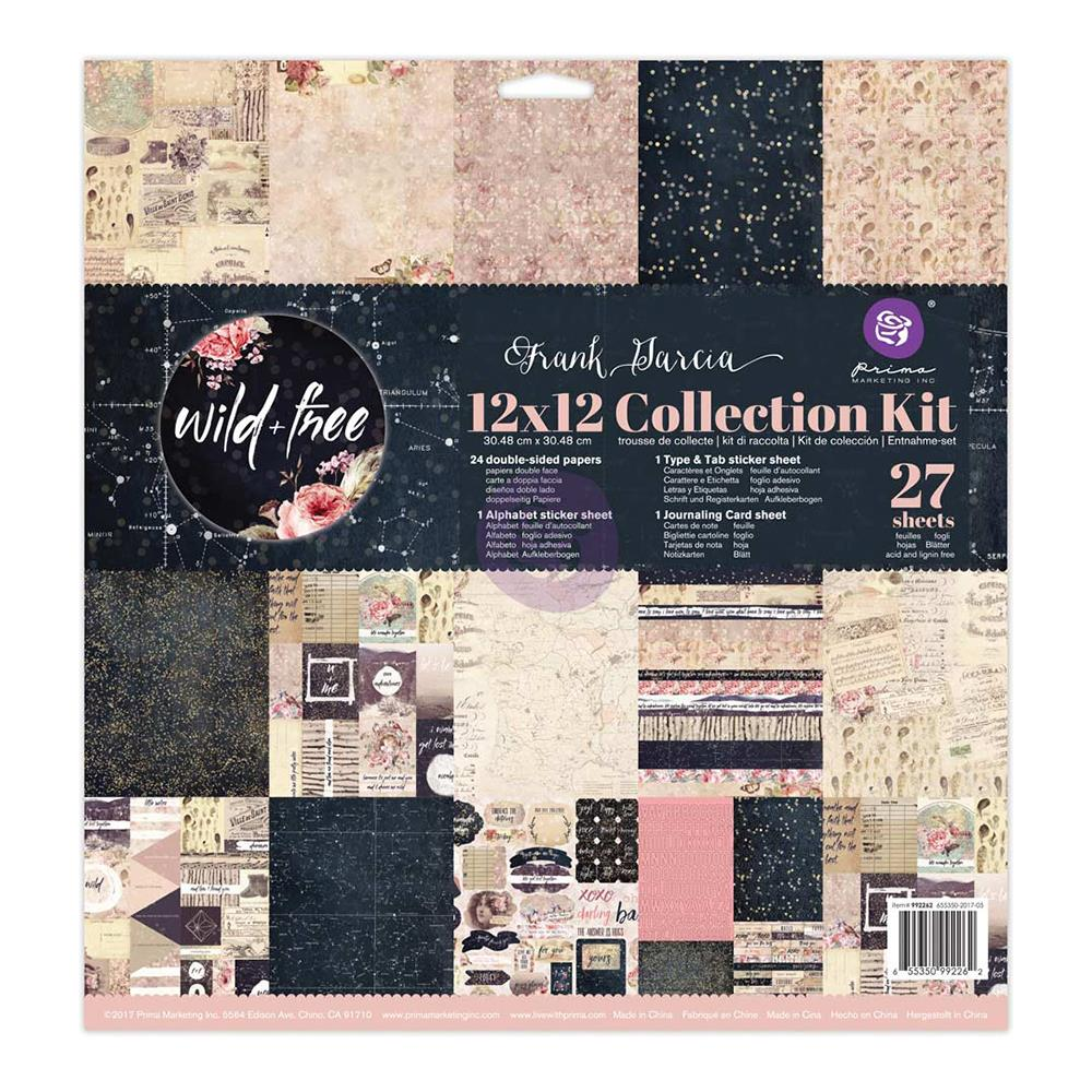 Prima - Wild & Free 12x12 Collection Kit