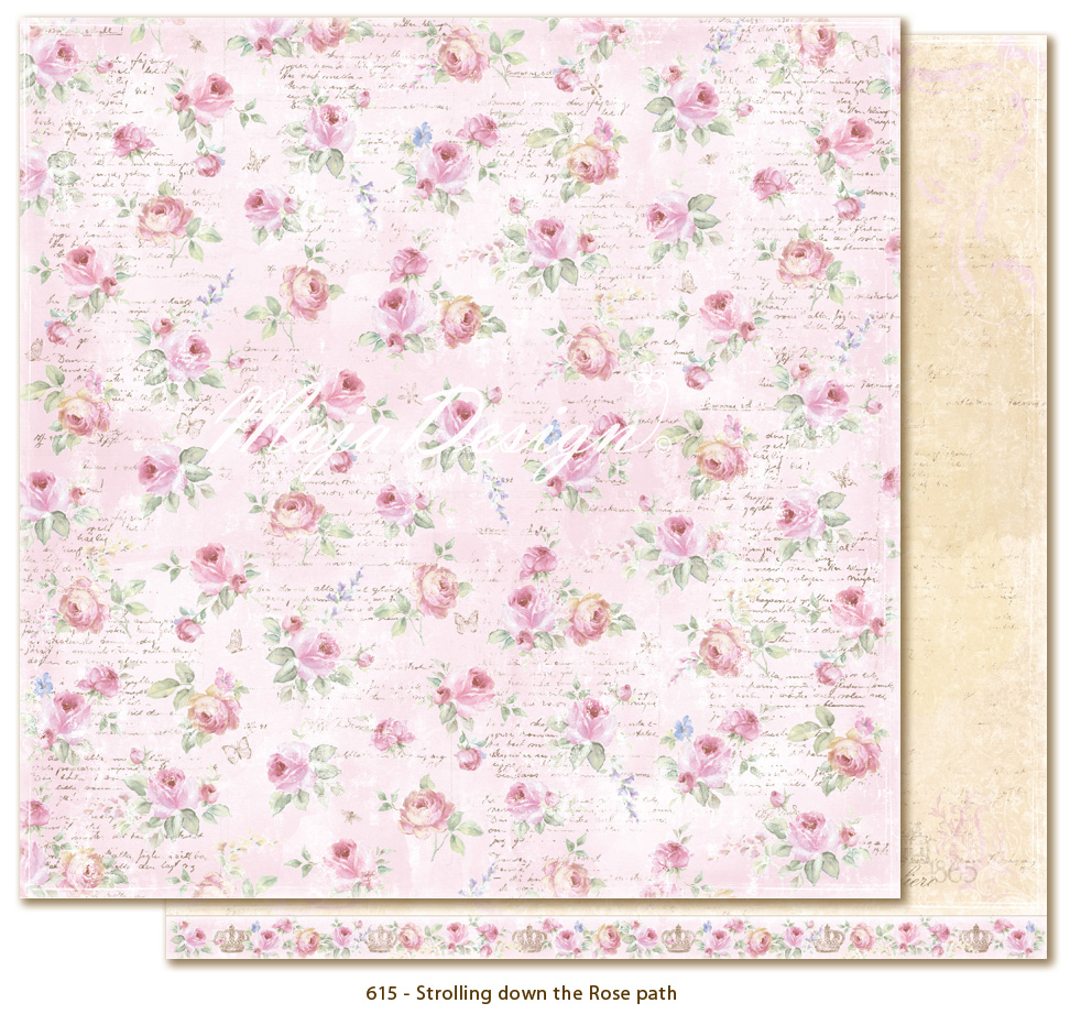 Maja Design - Sofiero - Strolling down the Rose path
