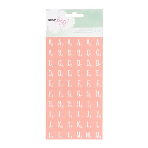 American Crafts - Dear Lizzy Neapolitan - Tile Letter Ballerina
