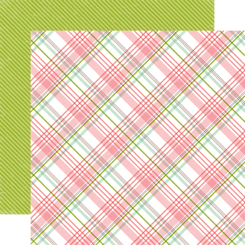 Echo Park Paper - Bundle of Joy New - Baby Girl Plaid