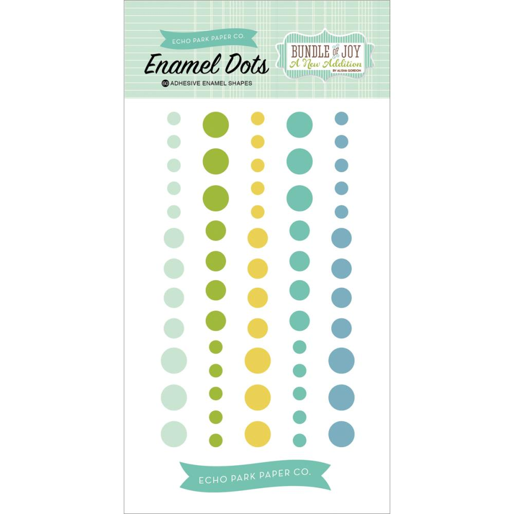 Echo Park Paper - Bundle of Joy New Boy - Enamel Dots