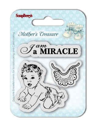 ScrapBerry's - Mother's Treasure-I'm a miracle