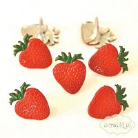 Eyelet Shape Brads - ćwieki - Strawberry