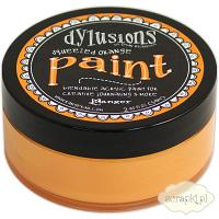Dylusions Paint - farba akrylowa - Squeezed Orange