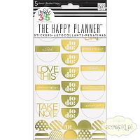 MAMBI - Happy Planner Create 365 - Take Note Gold Foil