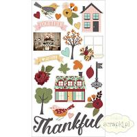Simple Stories - Vintage Blessings - chipboardy