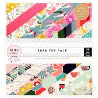 Pink Paislee - Turn the Page - pad papierów 6x6