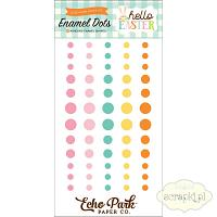 Echo Park - Hello Easter - enamel dots