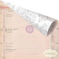 Prima - Lavender Collection - My Last Note - papier 12x12