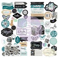 Prima - Zella Teal - chipboardy