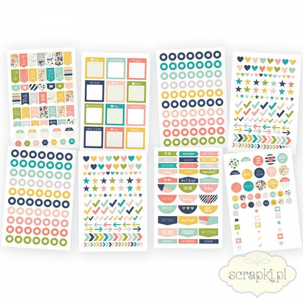 Simple Stories - Posh - Planner Stickers