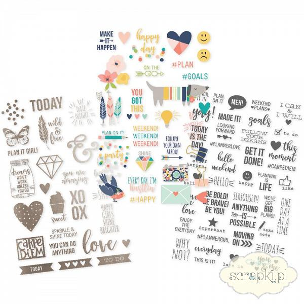 Simple Stories - Posh - Clear Stickers
