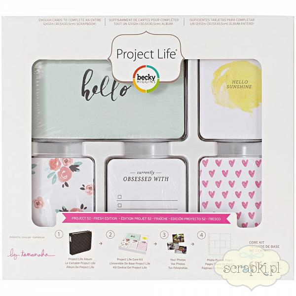 Project Life - Core kit - Project 52 Fresh Edition - Nowość!
