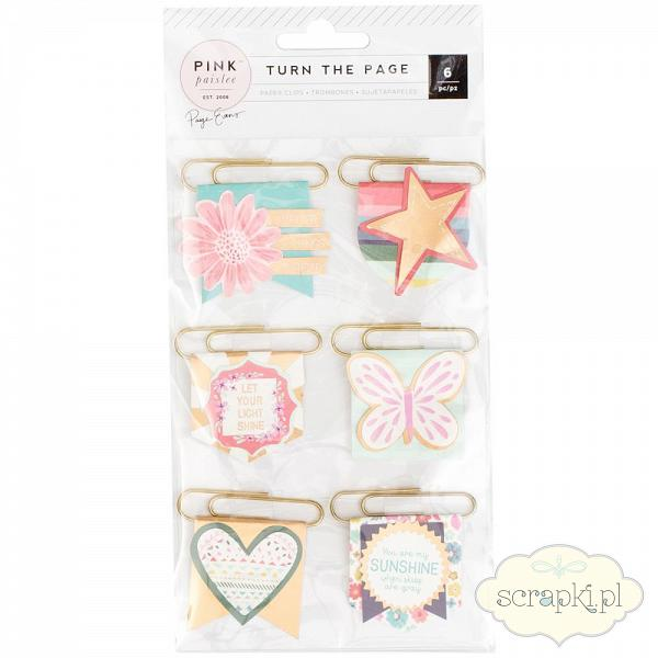 Pink Paislee - Turn the Page - paper clips
