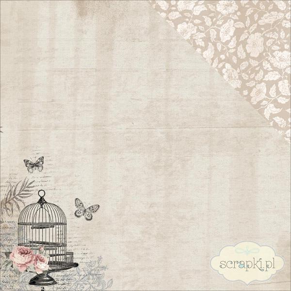 Kaisercraft - Romantique Collection - Boudoir - papier 12x12