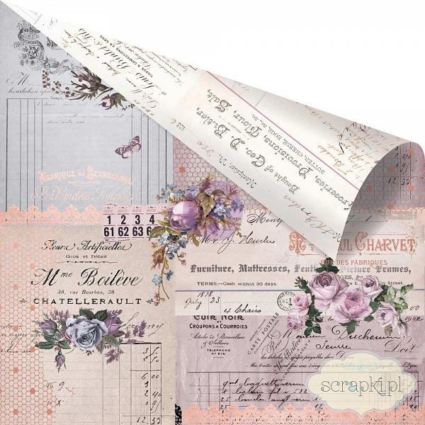 Prima - Lavender Collection - Through the Years - papier 12x12