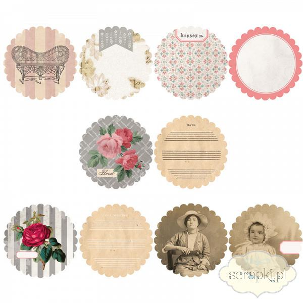 7gypsies - Trousseau - Scalloped Tag Inserts