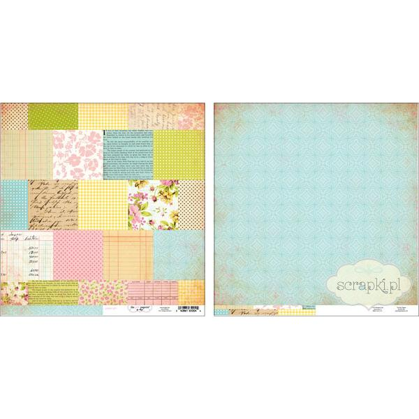 Girls Paperie - Paper Girl - Vintage Patchwork