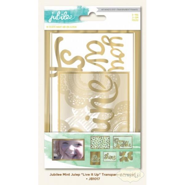 MME - Jubilee - Mint Julep Live it up - transparent frames