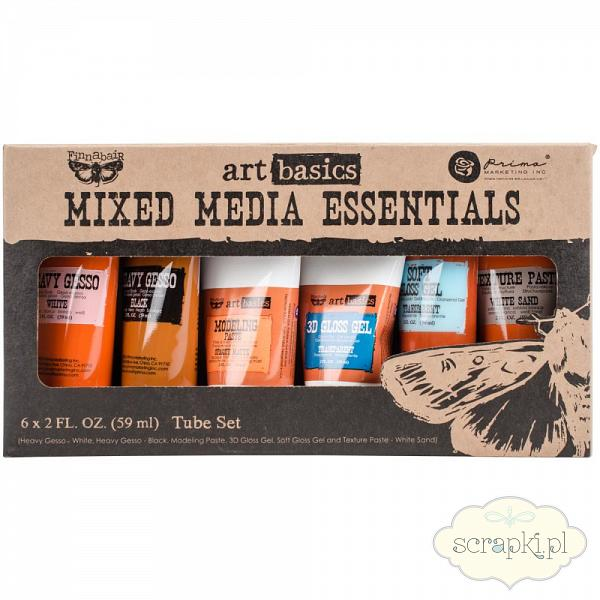 Prima - Finnabair Mixed Media Essentials - zestaw mediowy