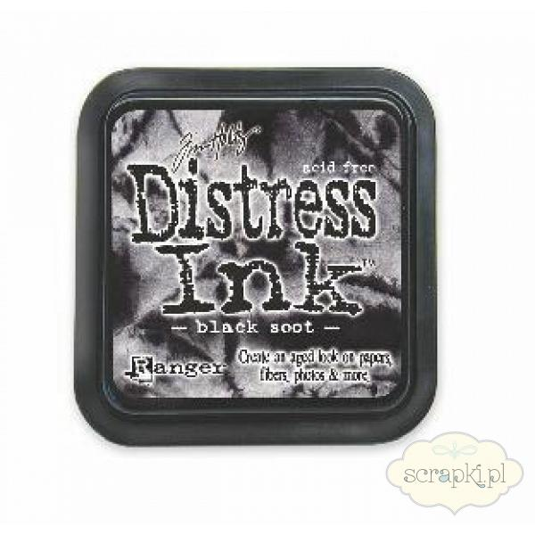 Tusz Distress - Black Soot