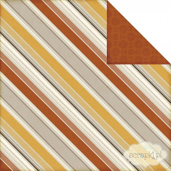 Echo Park Paper - Reflections Fall - Autumn Stripes