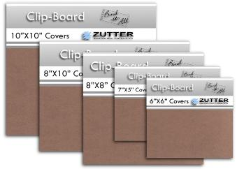 Zutter - Chipboard Covers - 7,5x5